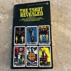 Other - The Tarot Revealed Paperback Book Vintage Gray